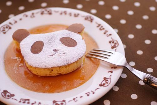 bアップパンダホットケーキ