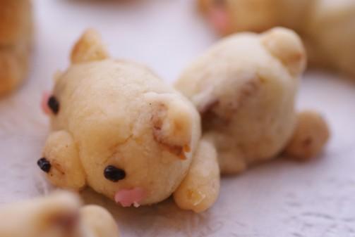 bアップ2白熊クッキー