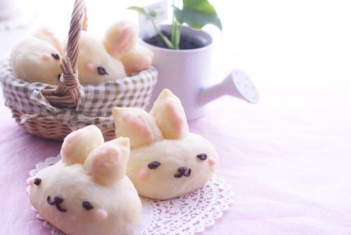 b横ウサギパン
