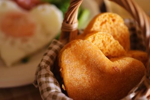 bアップハートパン