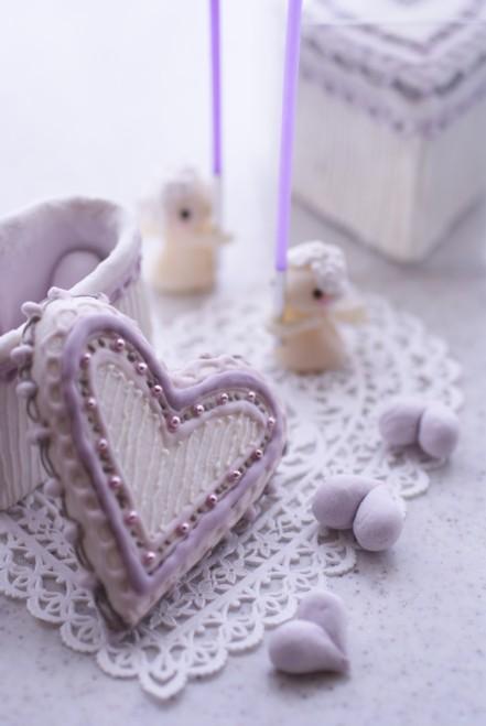 b縦紫ハートの宝石箱