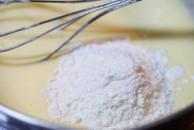 bチーズ粉混ぜ