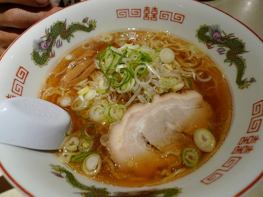 鳥取〆ラーメン醤油