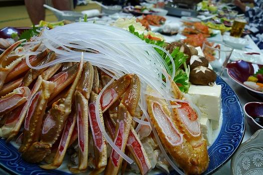 鳥取宴会カニ鍋