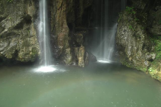竜宮の3滝