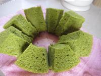 抹茶シフォン2