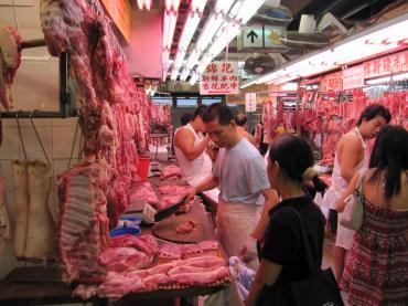 香港市場肉