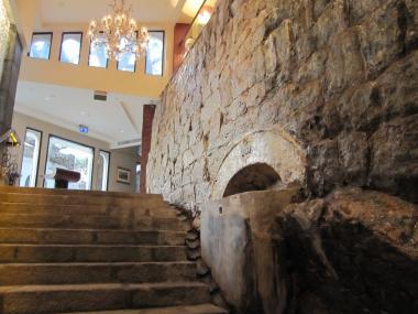 ポウサダ・デ・サンチャゴ 階段