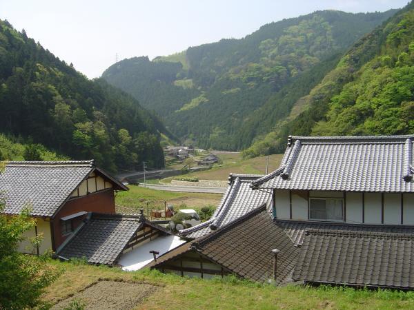 円福寺から見た光景