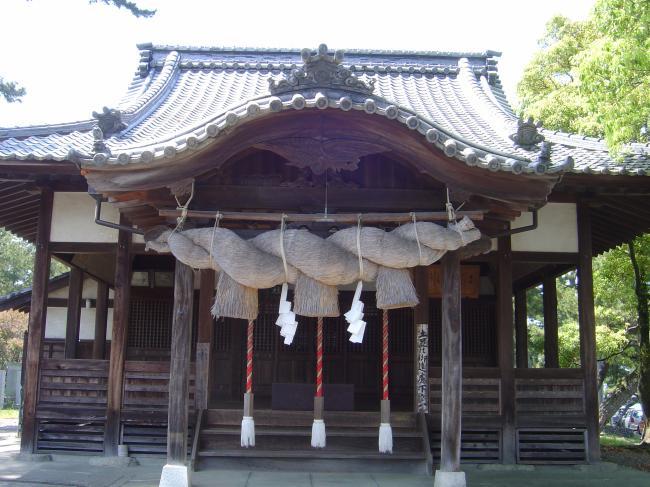 五色浜神社縮小