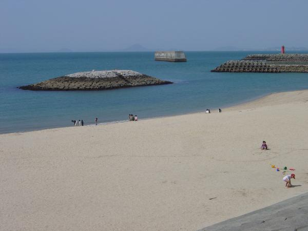 上灘海岸縮小