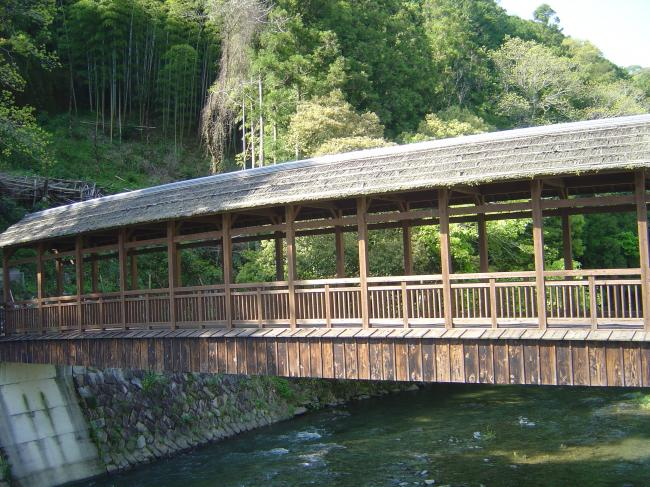 屋根のある橋縮小