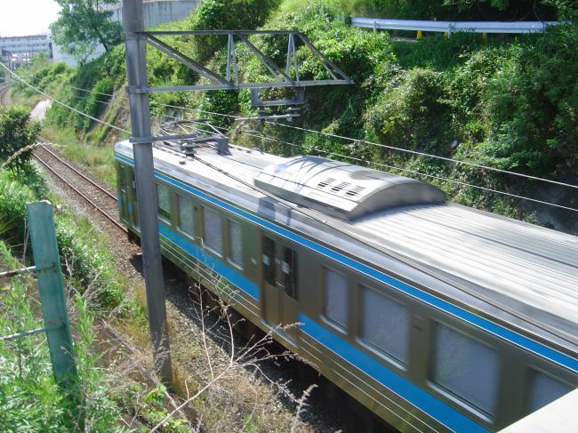 JR電車縮小