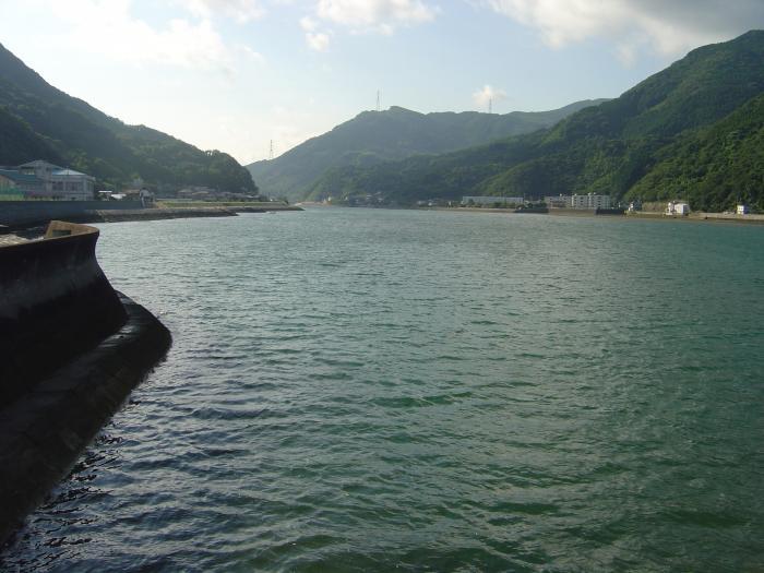 肱川河口縮小