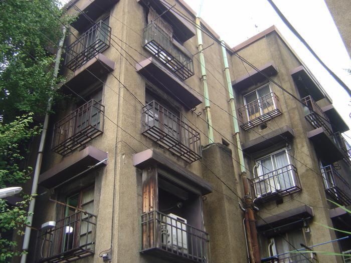 上野アパート10縮小