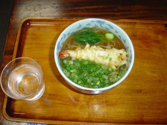 萩の茶屋天ぷらそば縮小