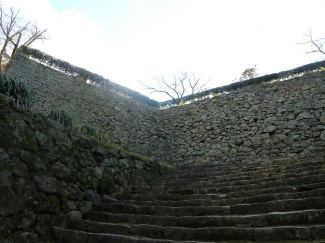 宇和島城石垣2縮小