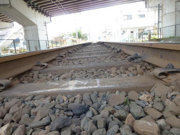 高架とJR線路縮小4