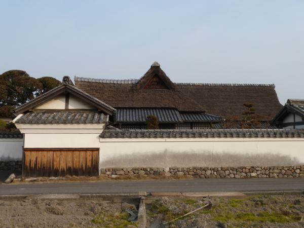 豊島家屋根2縮小