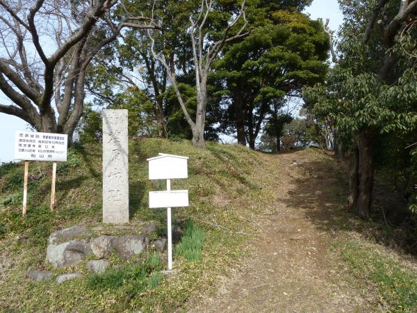 荏原城跡入り口1