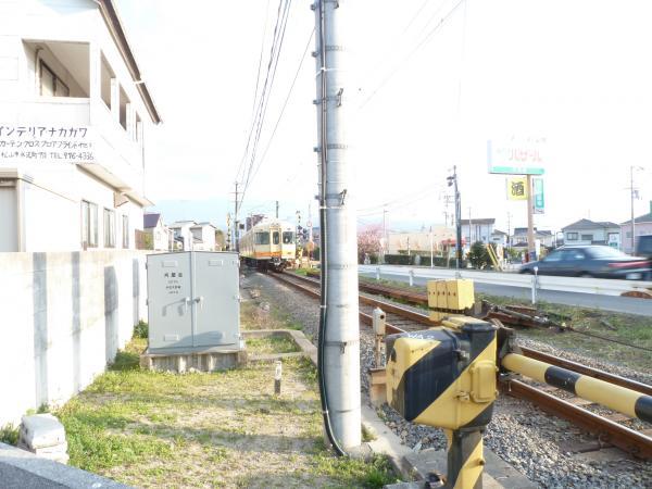 通過伊予鉄電車3