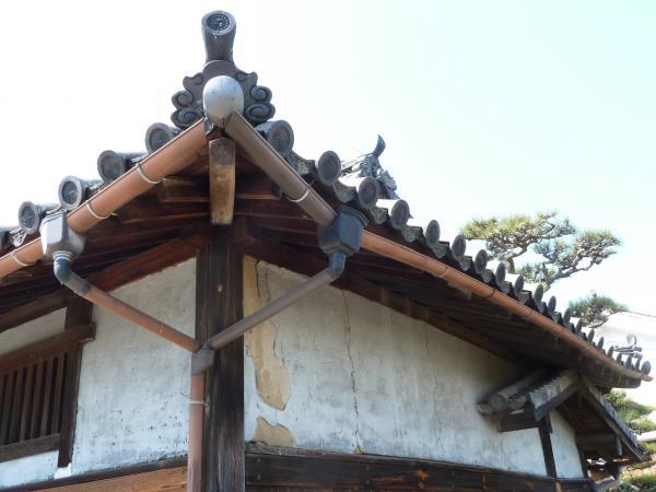 門の屋根2