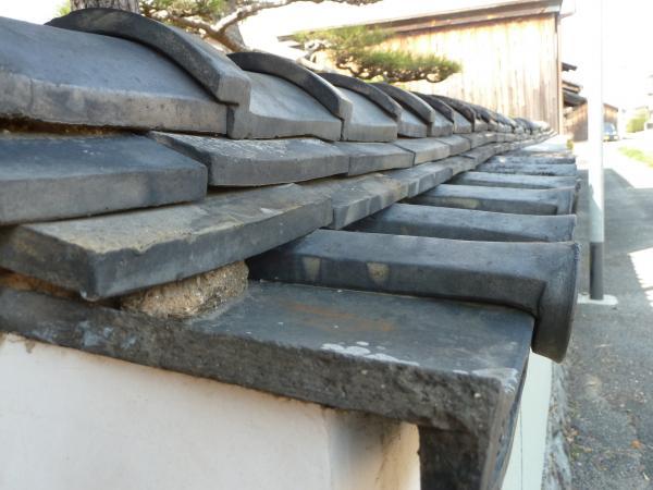 土塀屋根3
