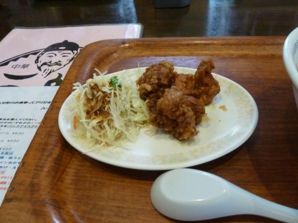 鶏の甘酢餡かけ5