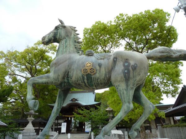 馬のブロンズ6