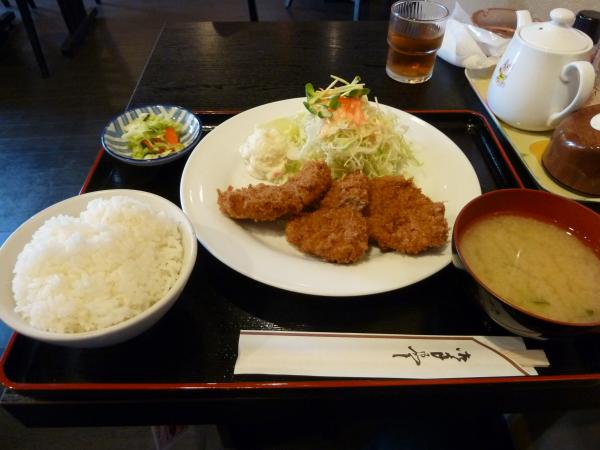 ヒレカツ定食4