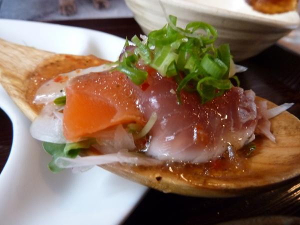 鮮魚のカルパッチョ7