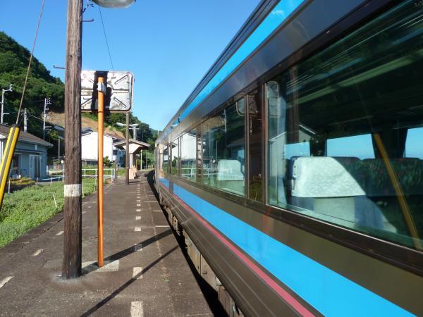 通過する列車5