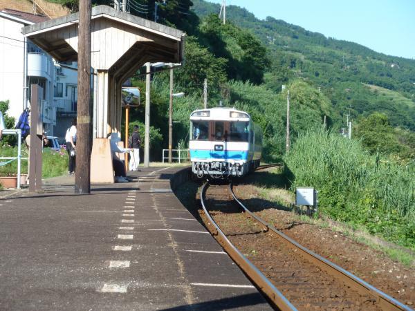 列車入線1
