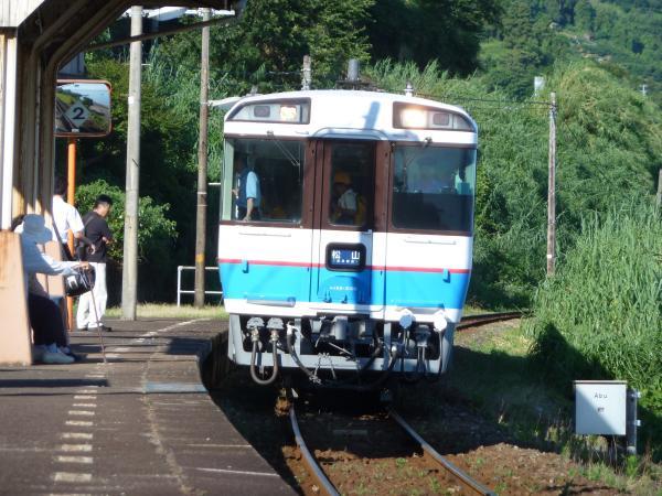 列車入線2