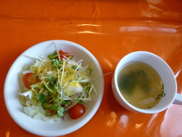 スープとサラダ4