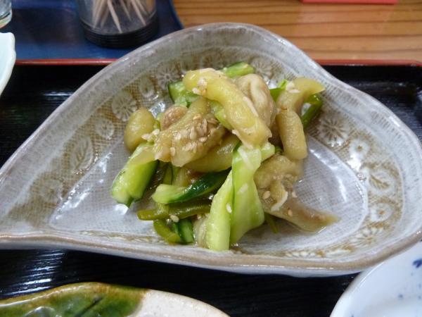 茄子と胡瓜煮物5