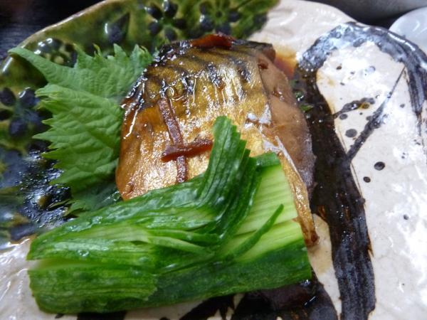 鯖の味噌煮アップ4