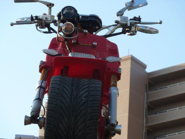 バイク正面5
