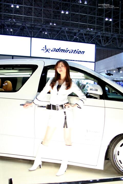 柏原夕舞 / admiration -東京オートサロン2011-