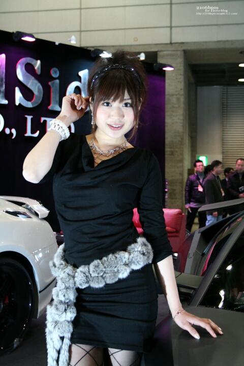 篠崎千愛/ VeilSide プレミア4509インターナショナル -東京オートサロン2011-