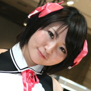 ☆小春奈央 (OPTION2/ケータイOPTION with dreamclub ZERO)@東京オートサロン2011☆