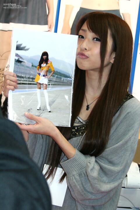 黒沢美怜 / A-class & ギャルズパラダイスショップ -東京オートサロン2011-