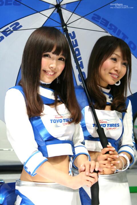 碧井エリ 鵜飼りえ / TOYO TIRES -東京オートサロン2011-