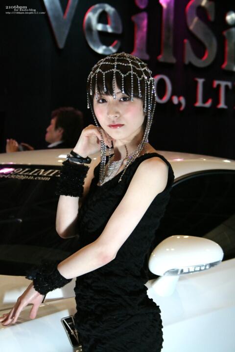 恵口あや / VeilSide プレミア4509インターナショナル -東京オートサロン2011-