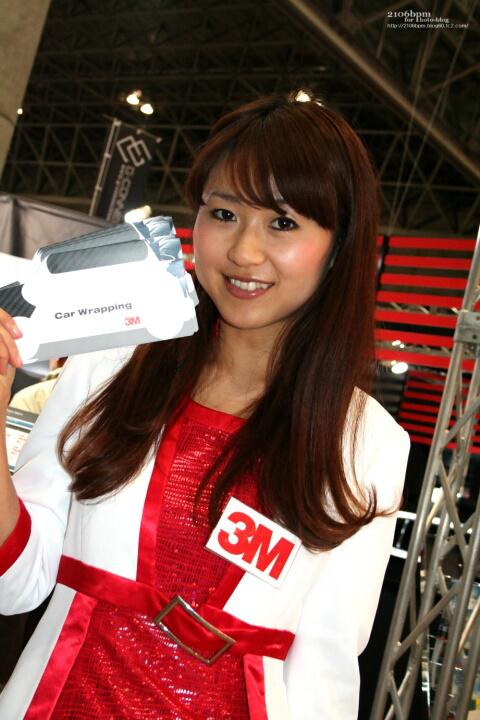 安田由美 / 3M -東京オートサロン2011-