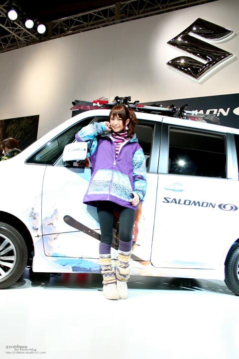 落合愛美 / SUZUKI ステージ -東京オートサロン2011-