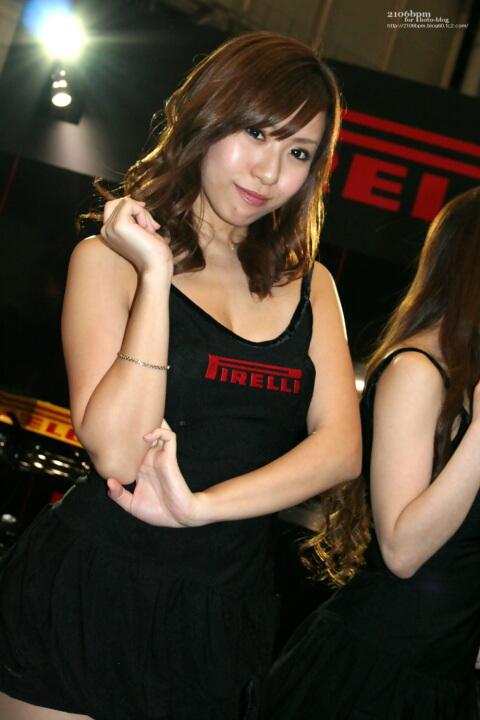 牧橋美輝 / ピレリ -東京オートサロン2011-
