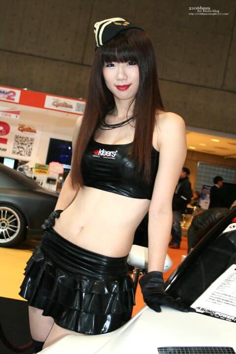 宇佐美あおい / OPTION R35GT-R SUMO POWER GT -東京オートサロン2011-