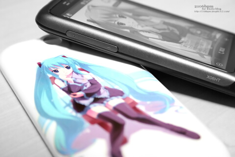 HTC Desire(X06HT/X06HTII)専用ケース_初音ミクVersion