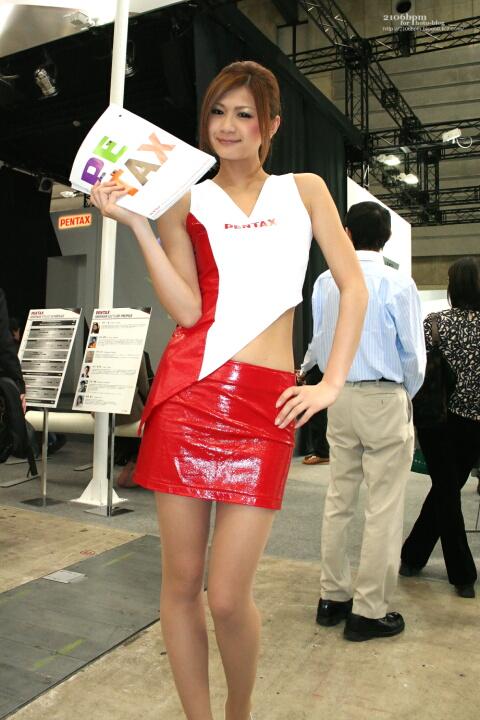 林真奈美 / HOYA PENTAX イメージング システム事業部 -CP+2011-